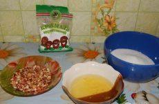 Рецепт: Самый вкусный «Киевский торт» — «в духовке»
