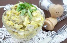 Салат из свиного сердца с яйцами и солеными огурцами, рецепт с фото