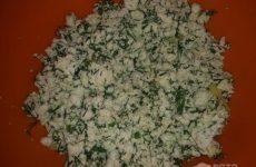 Рецепт: Лепешки на сковороде — сырно-творожные