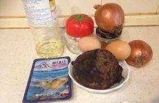 Рецепт: Салат с мидиями — В моем исполнении.