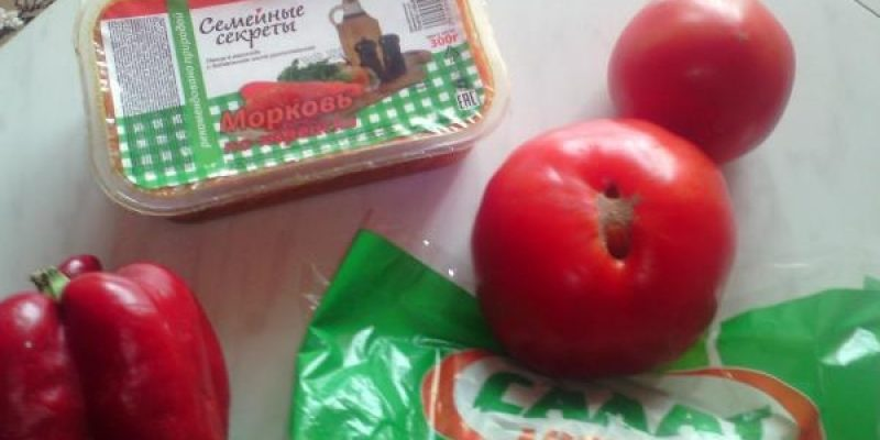 Рецепт: Шаурма с мясом и овощами — по-домашнему
