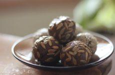 Шоколадные конфеты с черносливом и грецким орехом