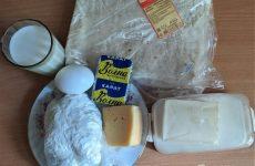Рецепт: Сырно-творожная запеканка в лаваше — в духовке