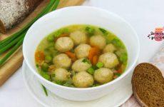 Вкуснейший суп с фрикадельками (Всего за 30 минут!)