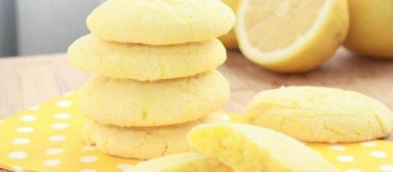 Мягкое лимонное печенье в формочках, рецепт с фото