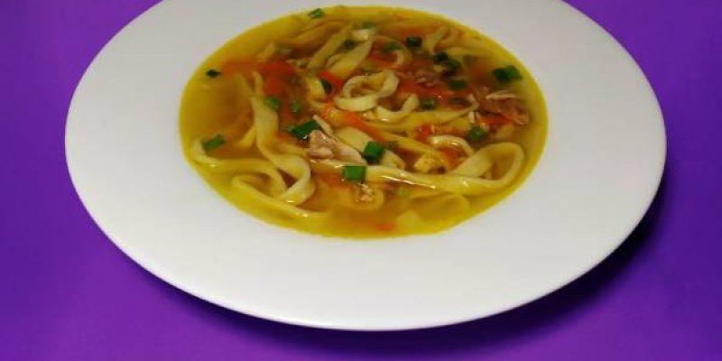 Куриный суп с домашней лапшой, рецепт с фото и видео