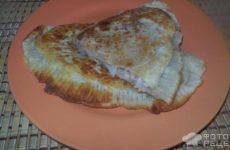 Рецепт: Чебуреки с печенкой и картофелем — по домашнему