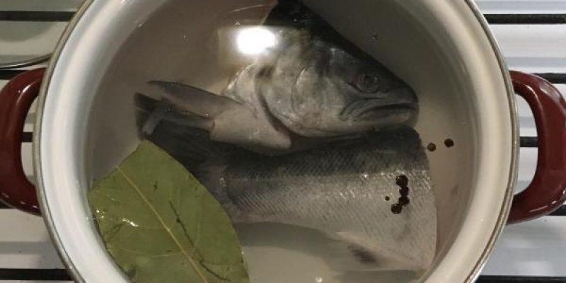 Рецепт: Уха — По-Сахалински