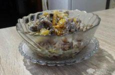 Рецепт: Куриные желудки в сметане — Вкусное,нежное блюдо.