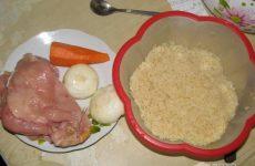 Рецепт: Плов в мультиварке — с куриным филе