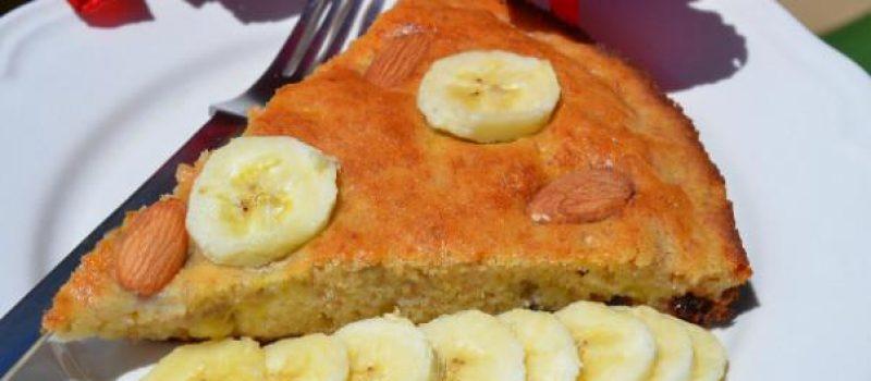 Простой банановый пирог