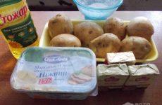 Рецепт: Сырный крем суп из плавленых сырков — с картофелем