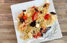 Вкусный салат из спагетти (Как приготовить спагетти)