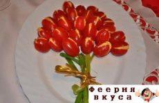 Салат «Тюльпан»