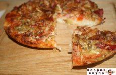 Рецепт: Пицца на рисовой основе — для тех, кто следит за фигурой
