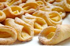 Творожное тесто на маргарине с яблоками, рецепт с фото и видео