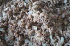 Рецепт: Кабачковый торт с начинкой — С фаршем