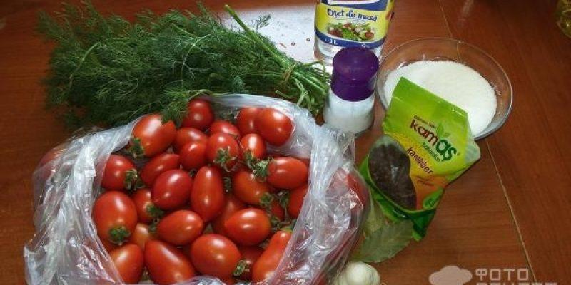 Рецепт: Маринованные помидоры — Невероятно вкусные помидорки, которые нравятся всем