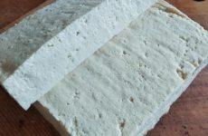Рецепт: Свежий полотняный Тофу — идеален для жарки