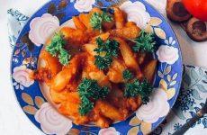 Рецепт: Не забываемый картофель — В мультиварке
