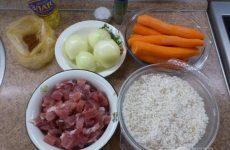 Рецепт: Плов — со свининой в казане